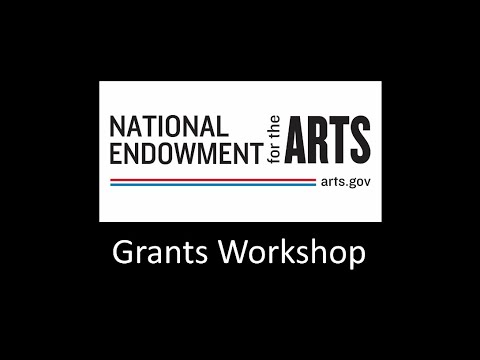 National Endowment for the Arts Grants Workshop Mp3