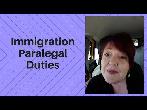 Immigration Paralegal Duties