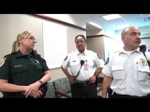 1A Audit, Osceola Co. FL Tyrants Found! All three put hands on me, criminal complaint filed!