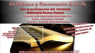 Iglesia El Camino de la Fe; 26/10/15-Transmisión a Radio Adoracion, en Charlotte, N.C.