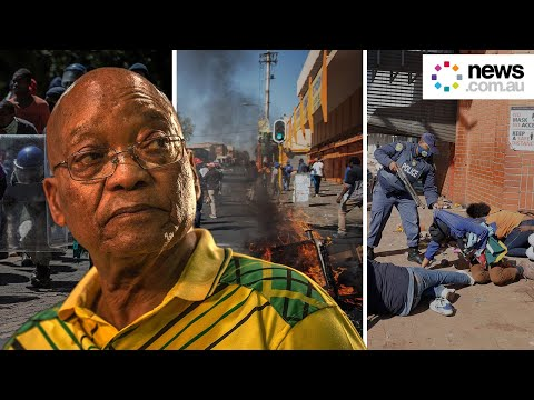 Deadly Riots Continue To Cause Chaos Across South Africa
