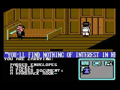 C64 Longplay - The Detective Game