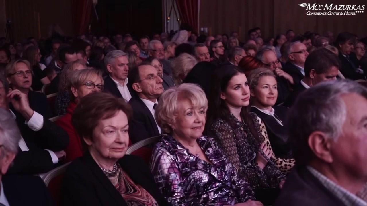 XXIII Forum Humanum Mazurkas - Irena Bartkowska i Andrzej Bartkowski - wstęp do spektaklu
