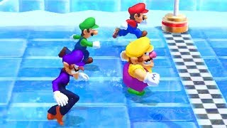 Mario Party 10 - All Funny Minigames