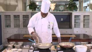 Healthy Cooking With Chef Jeff - Herb Pan Fried Pork Chop