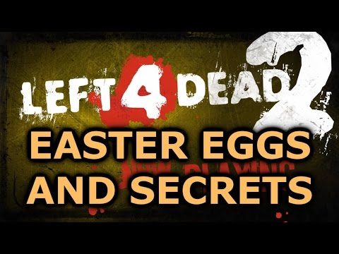 Left 4 Dead 2 All Easter Eggs And Secrets HD