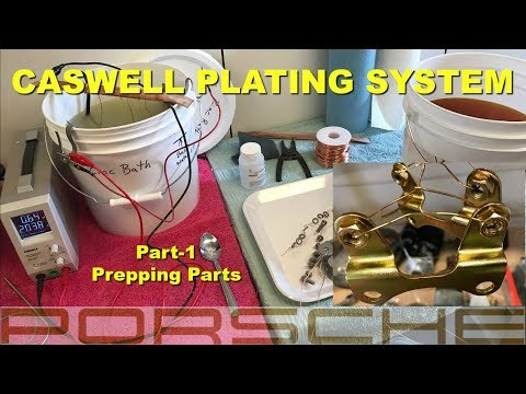 1967 Porsche 911 Video 29 Electroplating process part -1