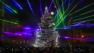 Kladno - Rozsvícení vánočního stromu na náměstí Starosty Pavla 2017