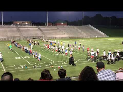 Band Camp Exhibition For Parents. A Preview To The 2019 Show