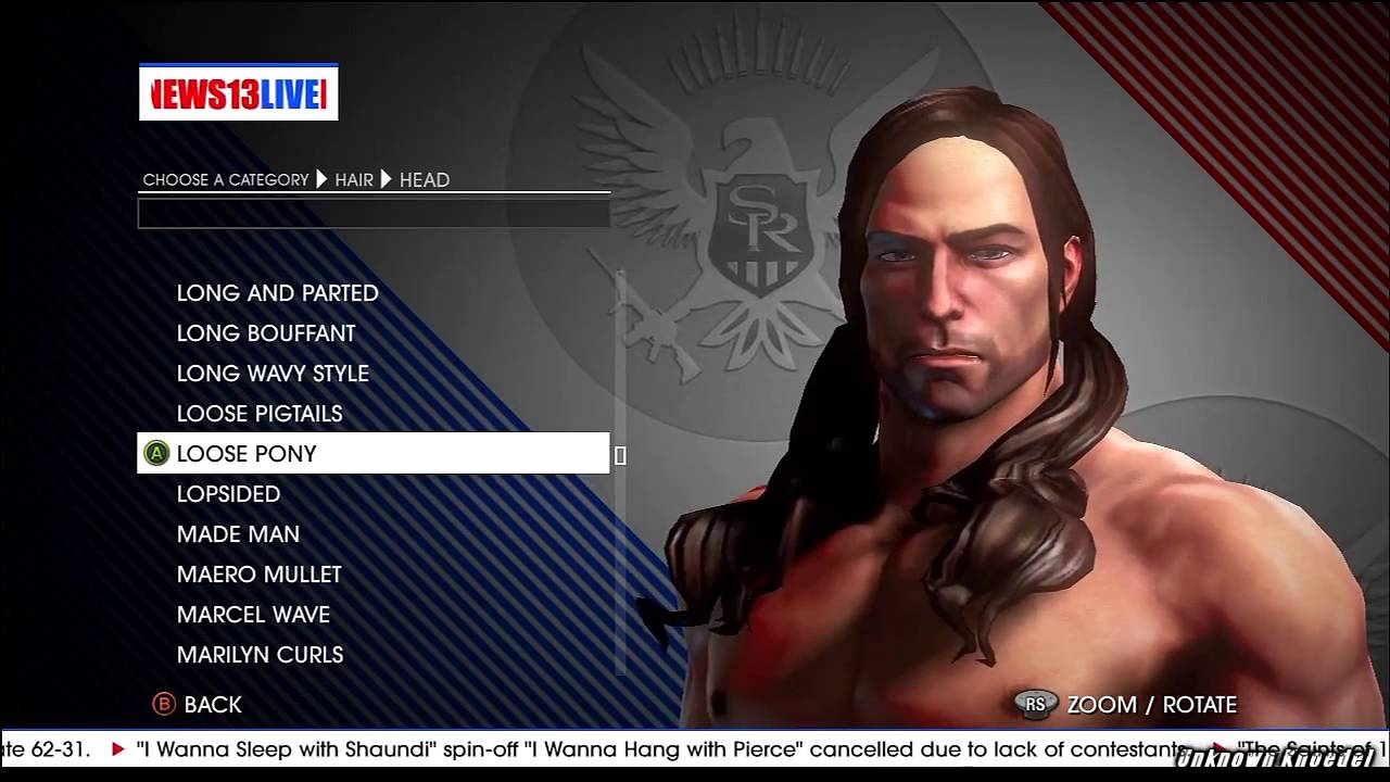 Hairstyle Editor For Men Saints Row Iv Character Editor Hairstyles Hd Youtube