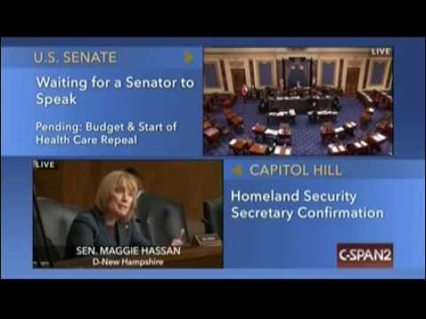 Maggie Hassan cites fake hacking story in DHS confirmation hearing