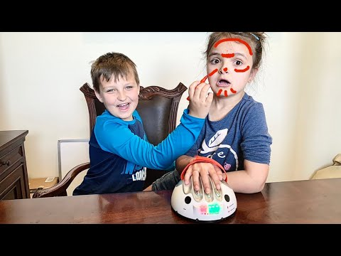 BIGGEST LIAR 'Invisible Magic Marker' LIE detector TEST!