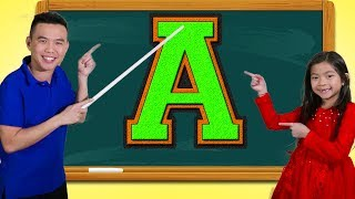 Emma Learns the Letter A