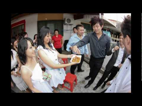 Andrew Ng @  Elaine Tan  actual wedding video(our big day)