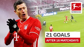 Robert Lewandowski - 21 Goals After Only 16 Matchdays