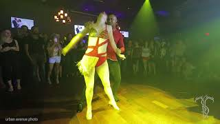 LEO & BRI Sensual Bachata Dance Performance At THE SALSA ROOM