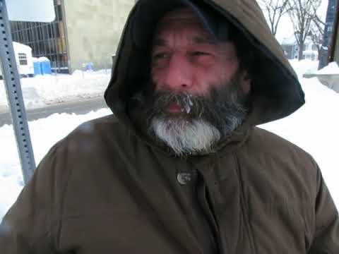 Panhandling in the VERY cold in Fredericton!!! Welfare taking money away!!!