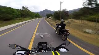 Paseo en Moto por el cajon del Maipo Chile