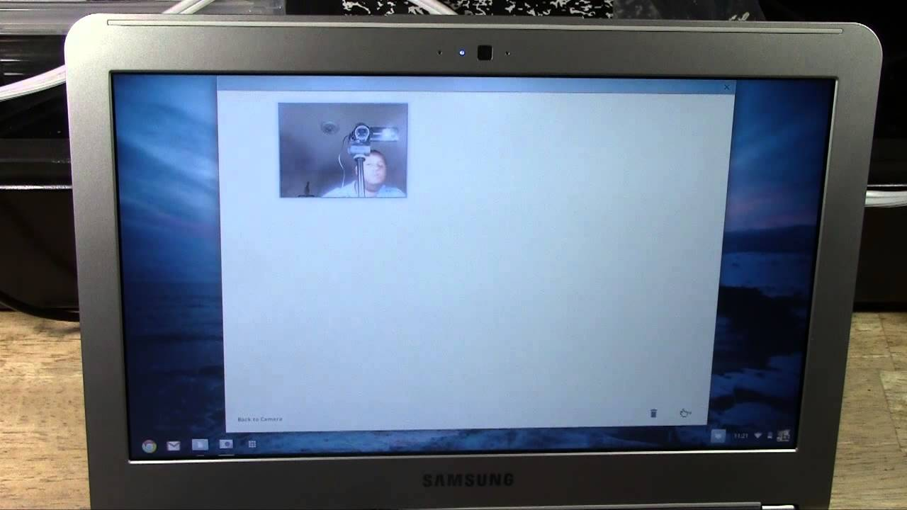 Chromebook: How to Take Pictures Using the Webcam ...