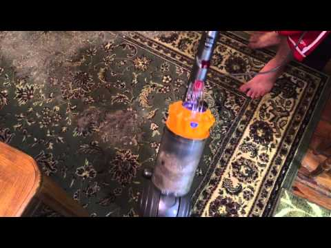 Dyson Ball multifloor upright big mess test