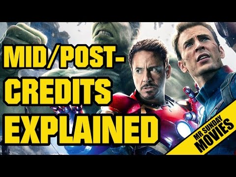 THE AVENGERS: AGE OF ULTRON - Post & Mid-Credits Explained (SPOILERS)