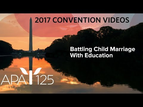 Battling Child Marriage With Education