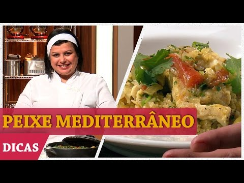 PEIXE MEDITERRÂNEO NO TAGINE (OU PANELA DE BARRO) Com HELENA | DICAS MASTERCHEF