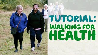 How to guide: Walking for health