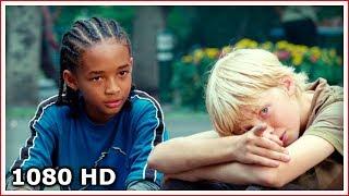 Дре знакомится с китайской девчонкой Мэй | Каратэ-пацан (2010)