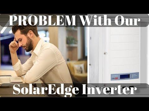 SolarEdge inverter problem