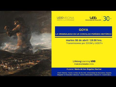 Goya: La originalidad en un convulso período histórico