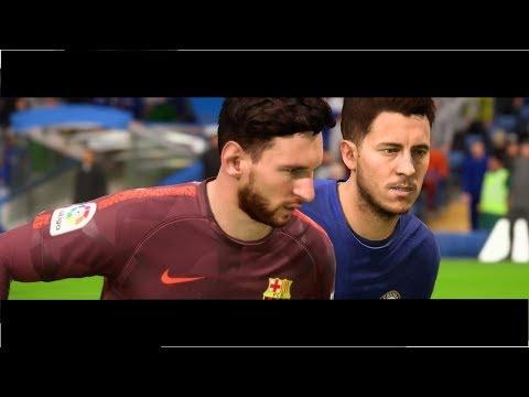 FIFA 18 Cinematic: CHELSEA VS BARCELONA FC |UEFA Champions League 2018| by Pirelli7