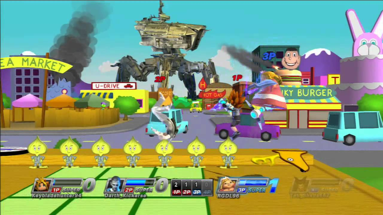 Playstation All Stars Battle Royale - Fat Princess Online Gameplay 6# - YouTube