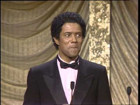 Gregory Abbott Wins Outstanding New Male Vocalist - Black Gold Awards 1987