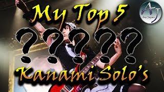My Top 5 Kanami [BAND-MAID] Solo's!