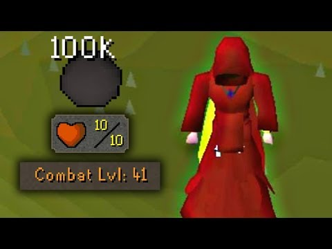 Runescape's Ultimate Bot Hunting Account