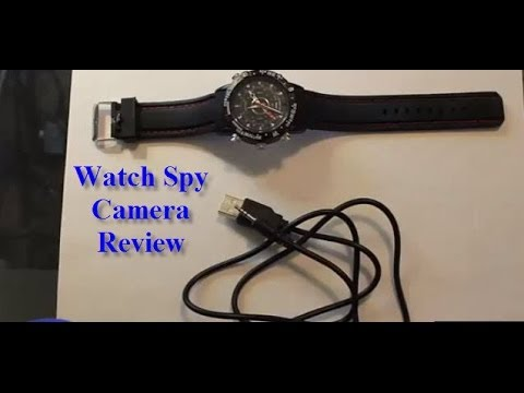 8GB Waterproof Watch Hidden Digital Video Camera Review for Private Investigators