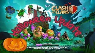Clash Of Clans Halloween Update 2k17 🎃🎃🎃🎃New troops