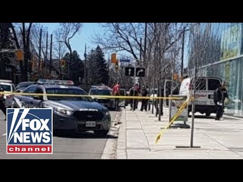 Police: 9 dead, 16 injured in Toronto van incident