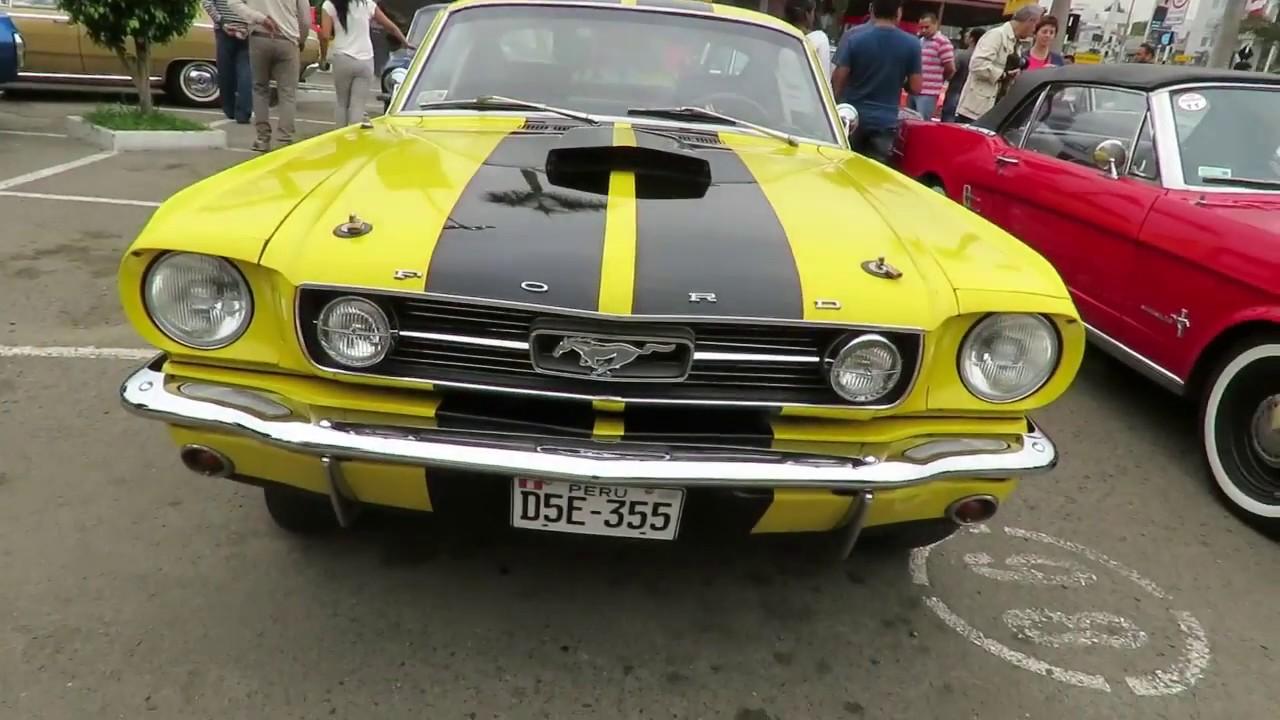 Mustang Autos Clasicos Lima Peru Youtube