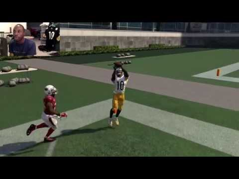 Can I Recreate Santonio Holmes Game Winning TD Catch from Super Bowl XLIII? Madden 16 Gameplay