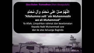 Doa Ramadhan Hari 10