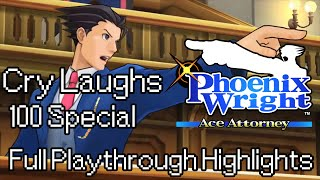 Repeat youtube video OBJECTION! | Phoenix Wright: Ace Attorney Highlights