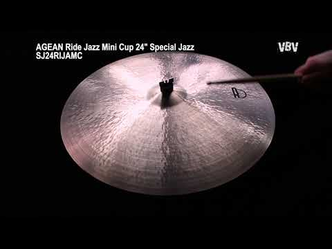 "24"" Ride Jazz Mini Cup Special Jazz video"