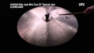 "24"" Ride Jazz Mini Cup Special Jazz video"