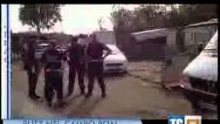 Intervento contro il lusso al Campo nomadi Candoni Santori su RAI_3-TG3 LAZIO 6 agosto 2012 ore 14