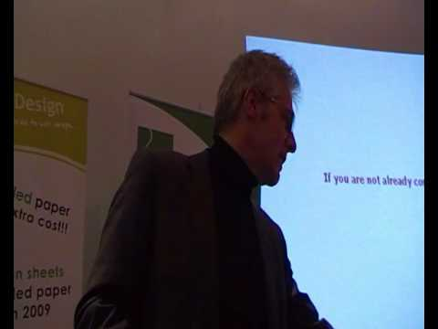 Mike Groves at the Green Business Network event