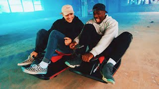 TGF Break Into Abandoned Offices with GO KARTS!