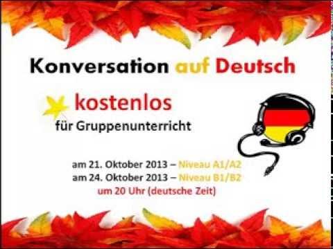 konversation auf deutsch thema herbst niveau a1 a2 youtube. Black Bedroom Furniture Sets. Home Design Ideas