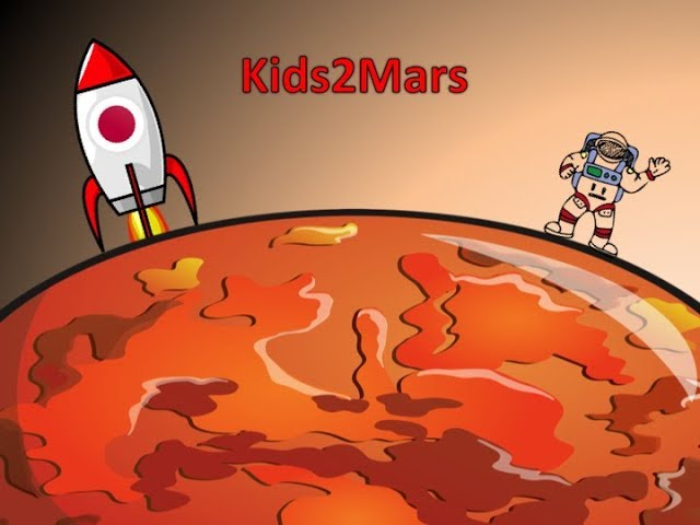 ENG Kids2Mars | Japan - What kind of difficulties do we have to live on Mars? Is it possible to... ?